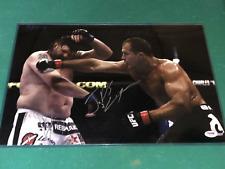 Junior dos Santos signed UFC 12x18 Photo PSA