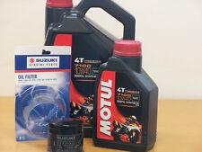 Motul Öl7100 10W40  / Original  Ölfilter Suzuki VS1400 Intruder alle Bj 87 - 10