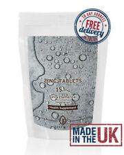 Zinc Oral Elemental Xtra 15mg Tablets UK Supplements