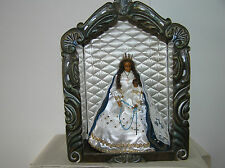 ANTIQUE CHAPEL WITH MADONNA AND CHILD FROM FRENCH CHURCH.