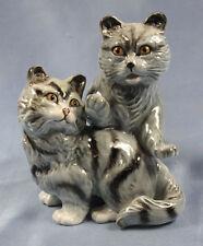 Katze Katzenfigur Porzellanfigur ens  Porzellankatze porzellan Katzenpaar dugr