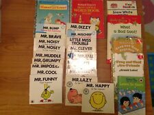Kids book bundle Mr Men, first readers plus more