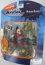 AVATAR ZUKO Keychain Last Airbender Fire Nation Prince Keyring Basic Retired NEW