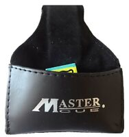 Master Leather Cue Chalk Pouch, Cue Chalk Holder. (UK Supplier)