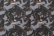DC Comics Batman Fabric - Small Design, Clothing and Crafts. 100% Cotton