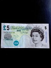Rare Old £5 Five Pound Note - Series E 2002