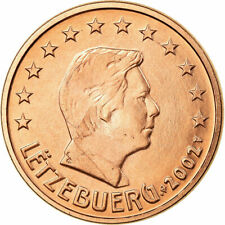 [#722567] Luxemburg, 5 Euro Cent, 2002, ZF, Copper Plated Steel, KM:77