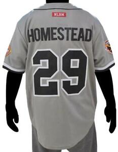 GRAYS HOMESTED NEGRO LEAGUE BASEBALL JERSEY GRAY EDITION Jersey