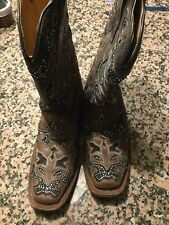 Gorgeous womens corral boots size 7
