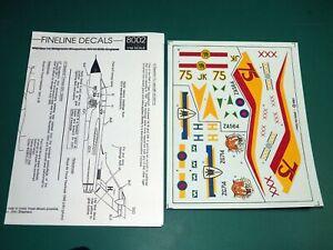 Fineline Decals 1/48 8002 - Tornado GR1, GR1.A, F3