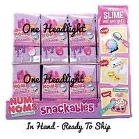 1 Num Noms Snackables Series 3 SLIME KIT Eggs Ice Cream Scented Squishy Surprise