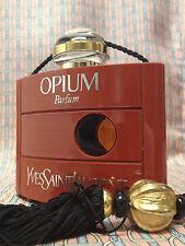 Vintage 1980s Opium LARGE 1 oz 30 ml PURE PARFUM Yves Saint Laurent OLD FORMULA