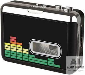 convertisseur de Cassettes USB en MP3 Audio Lecteur de Cassettes Audio Compatible avec Les Ordinateurs Portables Lecteur de Musique avec /écouteurs