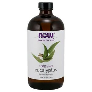 NOW Foods Eucalyptus Globulus Oil 16 fl. oz FREE SHIPPING. MADE IN USA