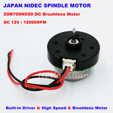Nidec 20n Outer Rotor Micro Dc Brushless Motor Built In Driver Dc12v High Speed