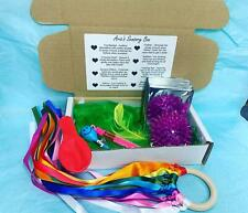 Personalised Baby Sensory Box Gift Baby Shower Toys