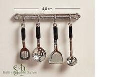6139 - Küchenutensilien 5-teilig - Miniaturen für Puppenhaus Puppenstube 1:12