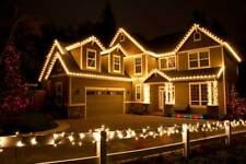 50M 500LED WARM WHITE CHASING CHRISTMAS FAIRY LIGHTS WITH 8 FUNCTIONS & MEMORY