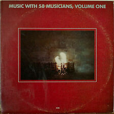MUSIC WITH 58 MUSICIANS, VOLUME 1 (ECM SAMPLER)-M1980 2LP JARRETT/REICH/MOTIAN+