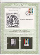 enveloppe timbre neuf et argent association receveurs de la poste  Liechtenstein