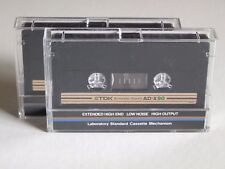 2 TDK AD-X90 tipo I AUDIO CASSETTE © 1982 made in Japan