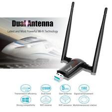 Best Signal 1200Mbps USB WiFi Adapter, Long Range Wireless Network WiFi PC/Mac