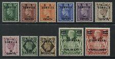 GB 1950 KGVI definitive overprinted BA Somalia mint o.g. lightly hinged