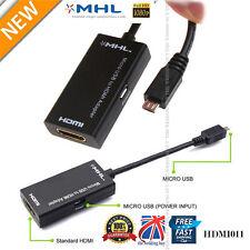 1080P Cable Adaptador MHL a HDMI HDTV Micro USB para LG HTC XPERIA SAMSUNG S2 Note