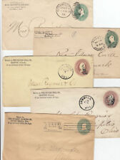 Slogan Cancel United States Stamps