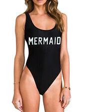 Women One Piece Monokini Suit Swimwear Bathing Beach Bikini Up Padded Beachwear