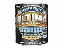 More details for hammerite ultima metal paint smooth dark grey 750ml
