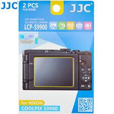JJC 2pcs LCD Guard Film Camera Display Screen Protector for NIKON Coolpix S9900