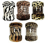 Mink Super Soft Faux Fur Animal Skin Throw Sofa Couch Bed Blanket All Sizes