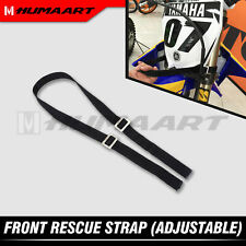 Universal Front Rescue Strap Lift Belt Pull Leash for Motocross Enduro Dirt Bike