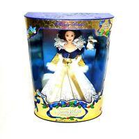 Disney Snow White Barbie Holiday Princess 1998 Mattel New Winter Christmas