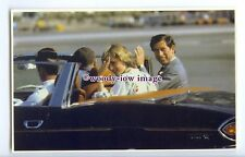 r2540 - Diana & Charles leaving Gibraltar Airport by Car, 01/08/1981 - postcard