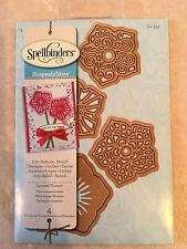 Spellbinder Shapeabilities Dies Layered Flowers  (4 Templates) S4-355 New