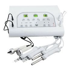 3 MHZ Bio Microcurrent Facial Spa Lift Electrotherapy Ultrasound Beauty Machine