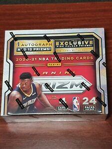 2020-21 NBA Panini Prizm Basketball Retail Box - 24 Pack
