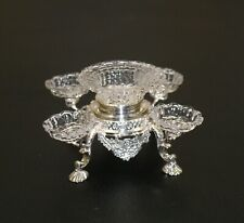 Acquisto Sterling Silver & Glass George III Epergne Artisan Dollhouse Miniature