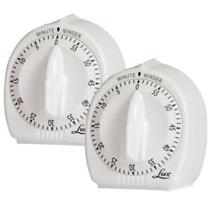 Lux Mechanical Timer Kitchen Timers For Sale Ebay