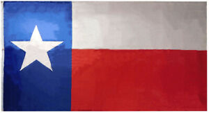 State of Texas Texan Premium Quality 68D Woven Poly Nylon 6'x10' Flag Banner