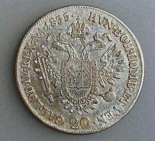 Austria 20 Kreuzer 1835 E    KM# 2147     VF