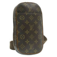 LOUIS VUITTON Monogram Pochette Gange Shoulder Bag M51870 LV Auth gt062