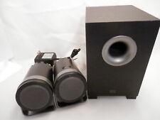 Altec Lansing 3-Piece 2.1 Desktop Speaker System Model BX1221 EUC