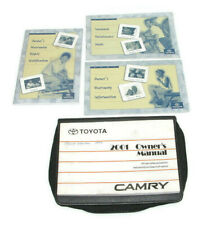 2001 Toyota Camry Factory Owners Manual Portfolio USED #5