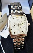 MINT Oris Tonneau Regulator Ref. 7471 Automatic Steel Mens Watch