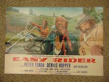 Peter Fonda Dennis Hopper Easy Rider Poster #L9520
