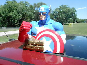 MIB STAR JARS Marvel Comics Captain America Ceramic Cookie Jar (S16)