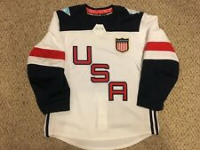 2016 World Cup of Hockey Team USA Authentic Adidas Jersey 7387 Size 52